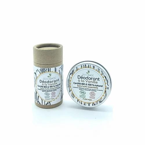 déodorant dekodacc bio & vegan à la vanille