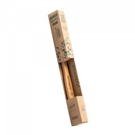 brosse à dents en bois français Bioseptyl
