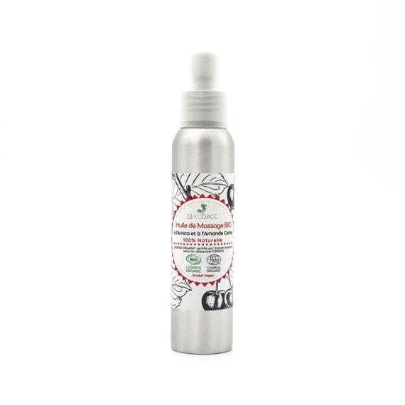 grand flacon d'huile de massage