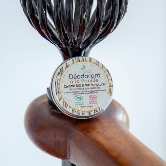 deodorant vanille pot