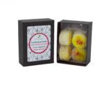 boîte de fondants macarons agrumes dekodacc