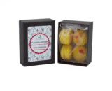 boîte de 4 fondants macarons fleur d'oranger dekodacc