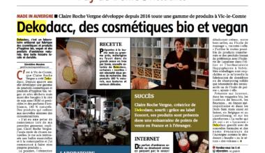 20201121 LA MONTAGNE article papier